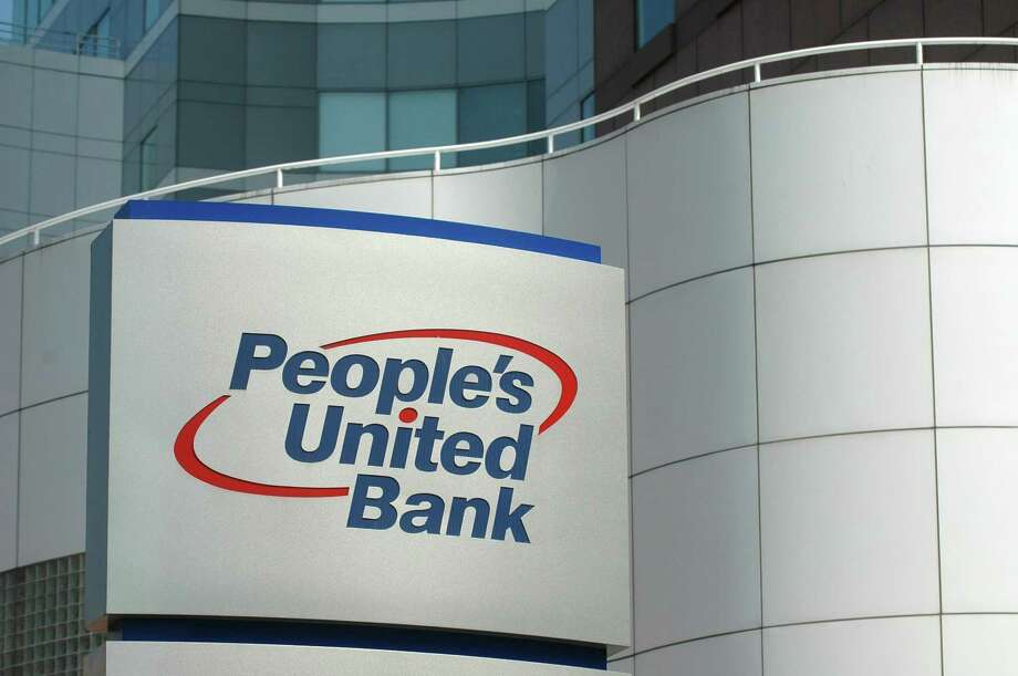 File photo of a People's United Bank sign. Photo: Cathy Zuraw / ST / Connecticut Post