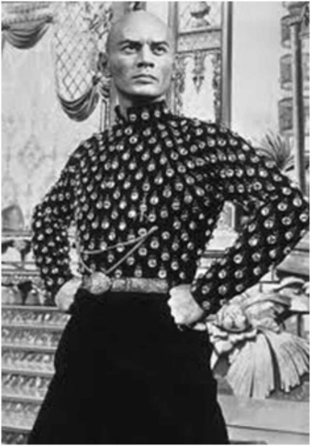 """Yul Brynner in the original """"King and I"""" from 1951 at the Shubert. Photo: Shubert Theatre / Contributed Photo"""