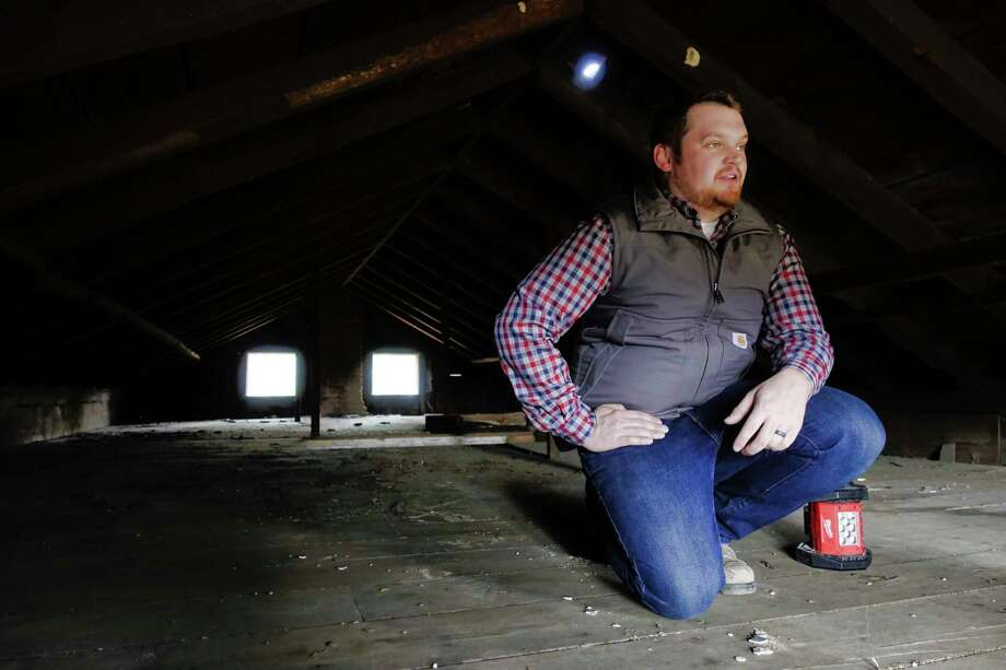 Burns has reached out to Shaker Heritage Society and the Town of Colonie for help saving the property. Photo: Paul Buckowski, Albany Times Union / (Paul Buckowski/Times Union)
