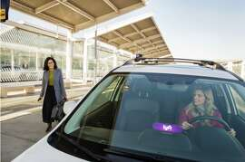 Lyft is testing taxi-style queues for cars at San Diego airport. San Francisco could use it, too!