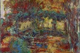 "Claude Monet's ""The Japanese Bridge,"" 1922-1924."