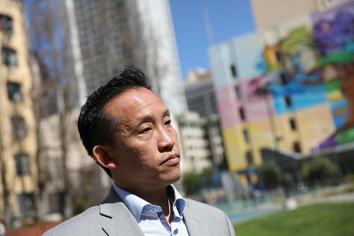 Assemblyman David Chiu calls