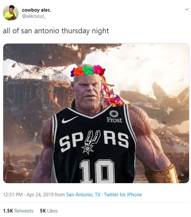 @alecsoul_: all of san antonio thursday night