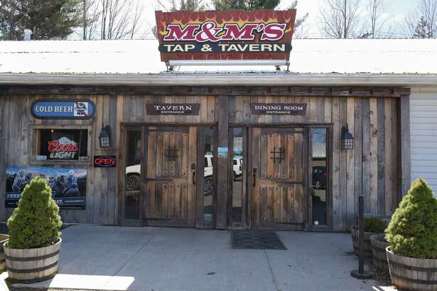 Exterior of M&M's Tap and Tavern on Wednesday, April 17, 2019 in New Lebanon, N.Y. (Lori Van Buren/Times Union)