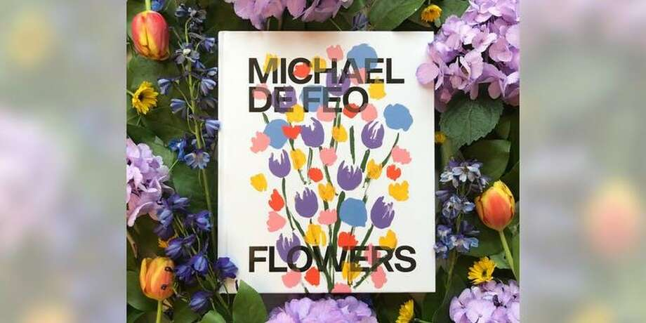 "Artist Michael De Feo (aka ""The Flower Guy"") is coming to Greenwich's Bruce Museum May 2 to speak and sign his new book, ""Michael De Feo: Flowers."" Photo: Contributed Photo"