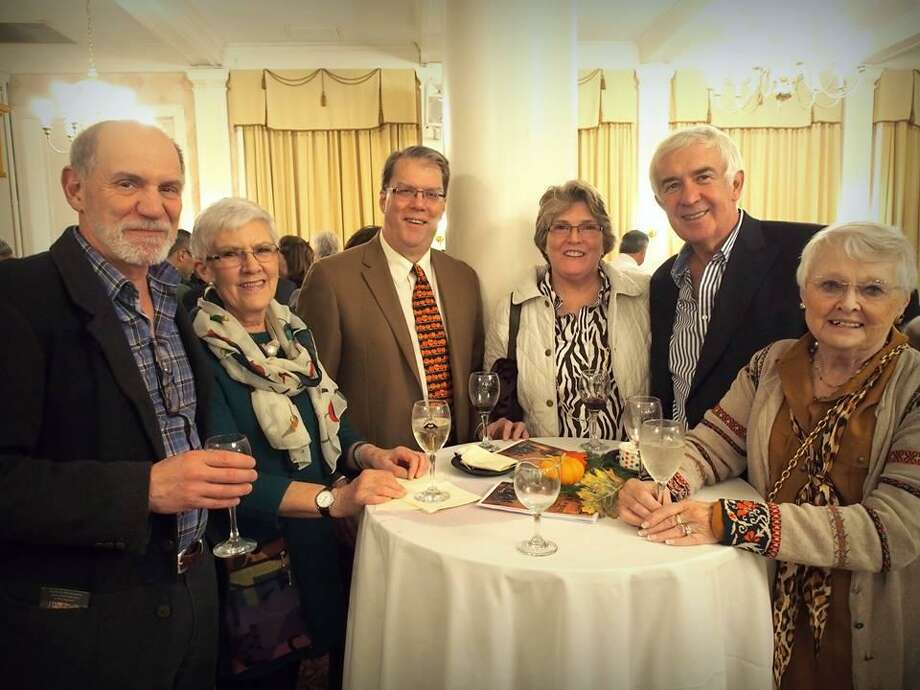 """A Tasteful Event,"" a fundraiser for FISH in Torrington, will be held Wednesday at the Elks Club. Above, guests enjoy food and refreshments during the 2018 event. Photo: Contributed Photo"