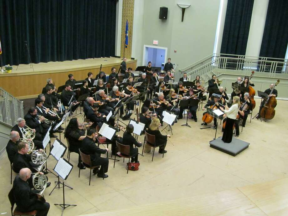 "HAMDEN MUSIC: The Hamden Symphony Orchestra will conclude its 57th season and celebrate 50 years of the orchestra's Young Musicians Concerto Competition at the spring concert, ""YMCC Jubilee"" on Sunday, April 28, at 3 p.m. at Hamden Memorial Town Hall (2372 Whitney Ave., Hamden). This performance will feature the winners of the 50th annual YMCC — violinist Matthew Hill, pianist Jeannette Kim, and pianist Jiakang Su performing works by Tchaikovsky, Saint-Saens and Grieg, respectively. Photo: David Liskov / Contributed Photo"