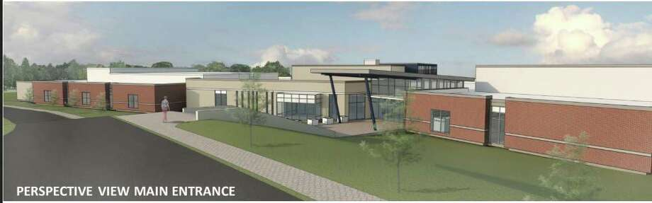 A conceptual plan for a proposed new high school in New Fairfield. Photo: Contributed Photo / Contributed / The News-Times Contributed