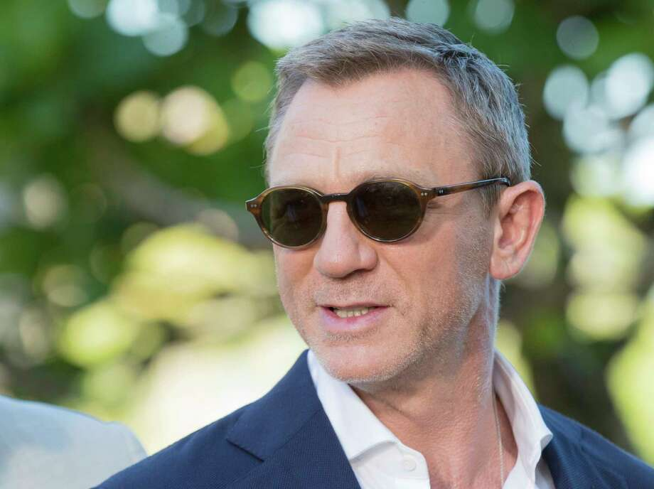 Actor Daniel Craig poses for photographers during the photo call of the latest installment of the James Bond film franchise, currently known as 'Bond 25', in Oracabessa, Jamaica, Thursday, April 25, 2019. (AP Photo/Leo Hudson) Photo: Leo Hudson / Copyright 2019 The Associated Press. All rights reserved.