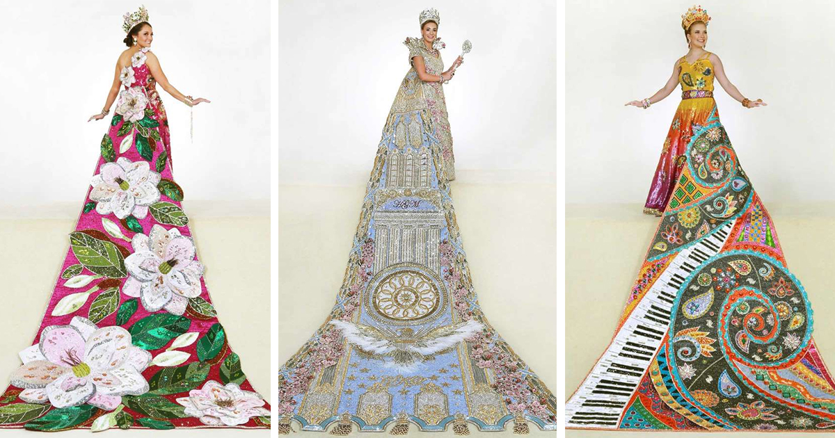The Jaw Dropping Gowns Of Fiesta S Order Of The Alamo