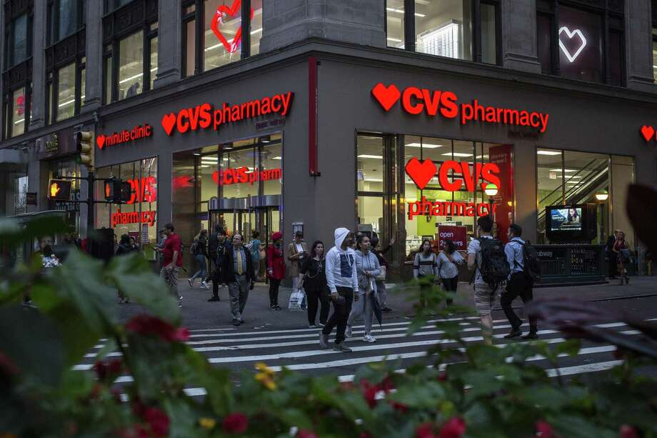 A CVS pharmacy location in Manhattan. The Trump administration is proposing a move that promises to cut prescription drug prices but has no guarantee that Big Pharma will pass on savings to consumers. Photo: BRYAN ANSELM /NYT / NYTNS