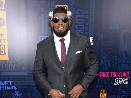 NASHVILLE, TENNESSEE - APRIL 25: Football player Ed Oliver attends the 2019 NFL Draft on April 25, 2019 in Nashville, Tennessee. (Photo by Jason Kempin/Getty Images)