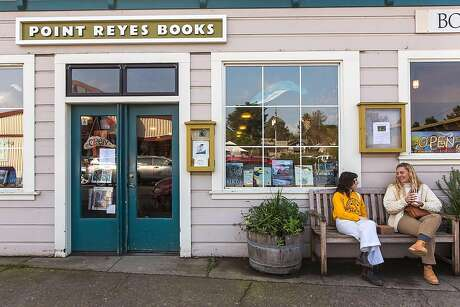 Point Reyes Books is owned by Stephen Sparks and Molly Parent, who met while working at San Francisco's Green Apple Books and acquired the 16-year-old shop in 2017. Photo: Garrick Ramirez