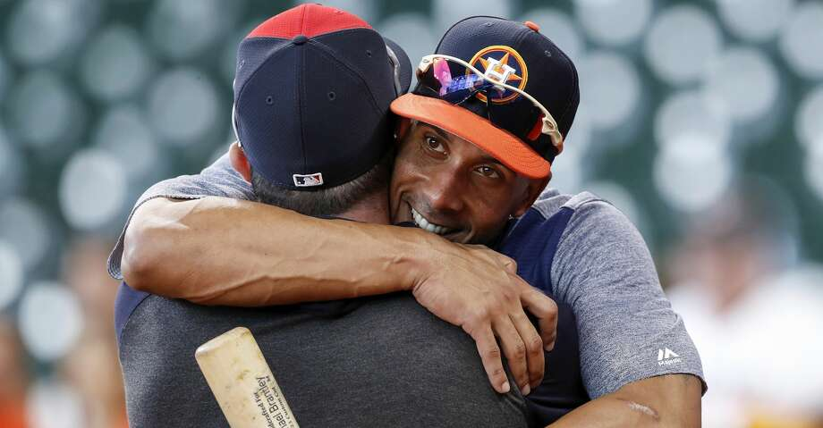 PHOTOS: Astros game-by-game Houston Astros left fielder Michael Brantley #23 greets Cleveland Indians second baseman Jason Kipnis #22 before the game at Minute Maid Park on April 25, 2019 in Houston, Texas. (Photo by Tim Warner/Getty Images) Browse through the photos to see how the Astros have fared in each game this season. Photo: Tim Warner/Getty Images