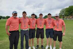 The Woodlands boys golf team advanced to the state tournament with a second-place finish at regionals earlier this week.