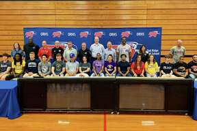 Fifteen student-athletes at Oak Ridge celebrated their college commitments on Thursday.