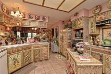 Kitchen of Buda home now on the market.