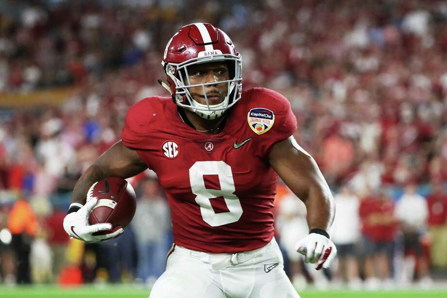 newest 95868 4b452 Raiders draft Josh Jacobs, Johnathan Abram with picks ...