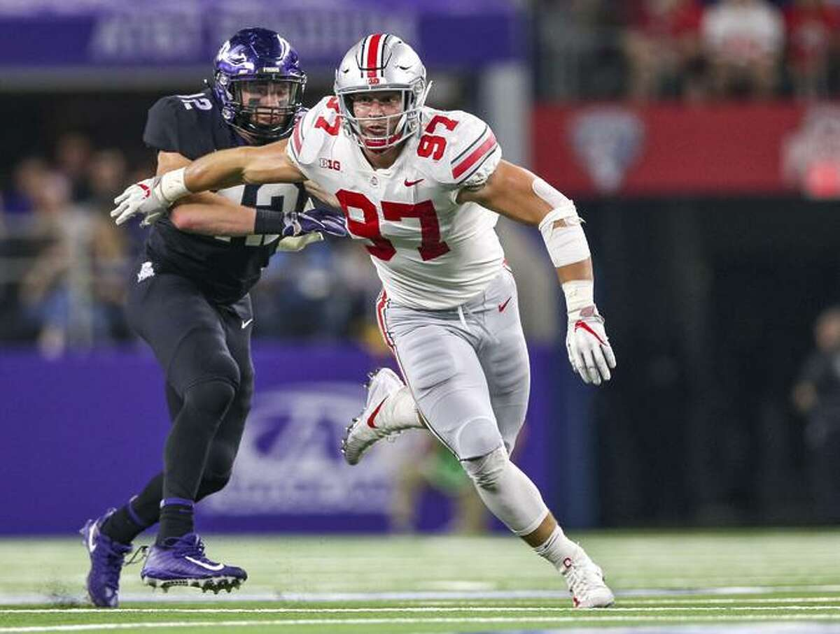 The core muscle injury that cut his college career short was worse than most people thoughtThe defensive end withdrew from Ohio State after suffering a core muscle injury in September, and was criticized by many who suggested he quit on his team. However, Bosa said he fully intended to return to the Buckeyes until learning the severity of the injury.