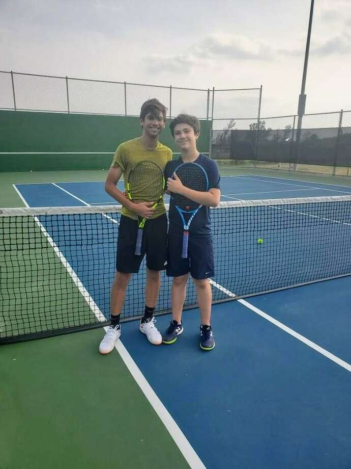 Brothers Marcelo and Franco Garza created and are organizing the Serves for Autism event being held Sunday at the Laredo Country Club in support of Autism Awareness Month. Photo: Courtesy Photo