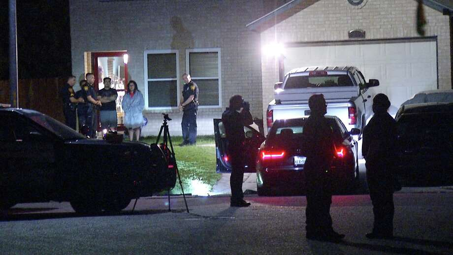 A woman was shot by a San Antonio police officer after she allegedly reached for a shotgun in her car, police said. The woman is in stable condition. Photo: Ken Branca