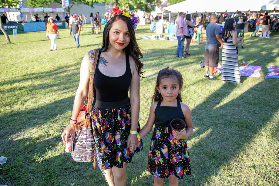 San Antonio's South Side was filled with Fiesta spirit as locals celebrated PACfest at Palo Alto College. Photo: Joel Pena