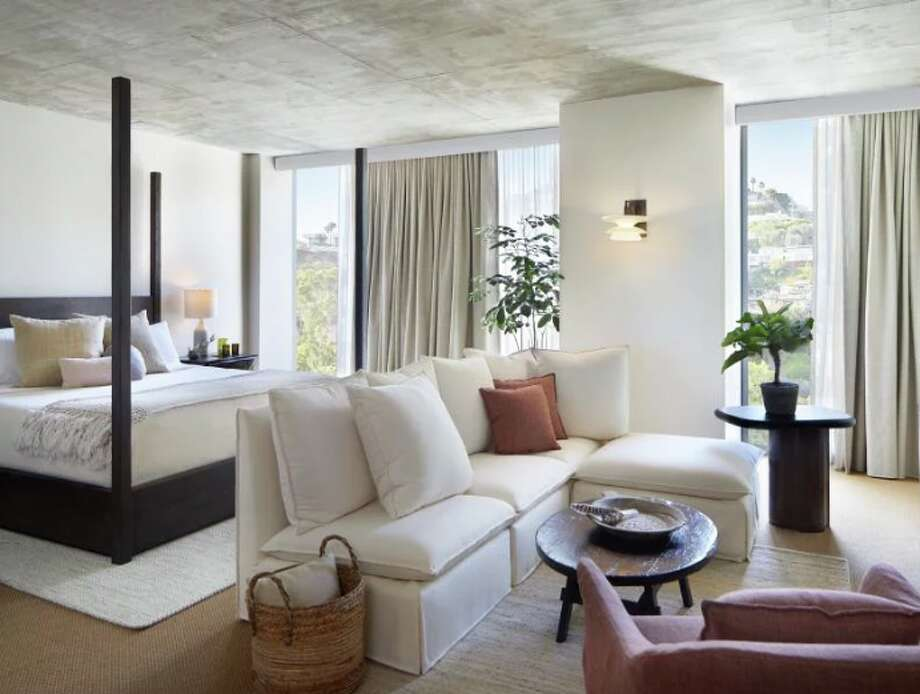 A room at the new 1 Hotels West Hollywood, previously the Jeremy Photo: 1 Hotels