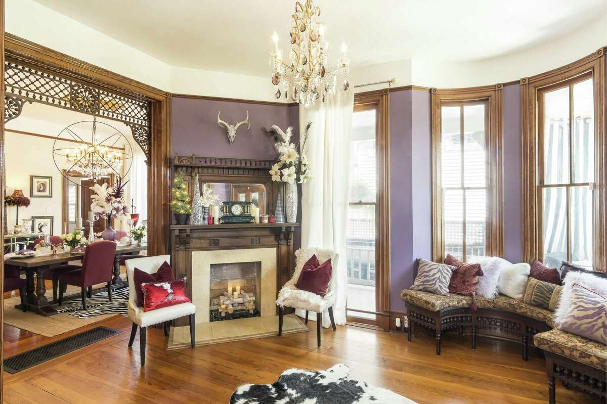This parlor in the home at 1126 Church St.