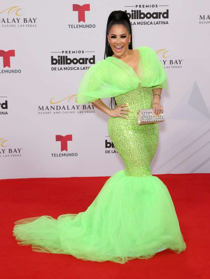 Journalist Carolina Sandoval attends the 2019 Billboard Latin Music Awards at the Mandalay Bay Events Center on April 25, 2019 in Las Vegas, Nevada. (Photo by Gabe Ginsberg/WireImage) Photo: Gabe Ginsberg/WireImage