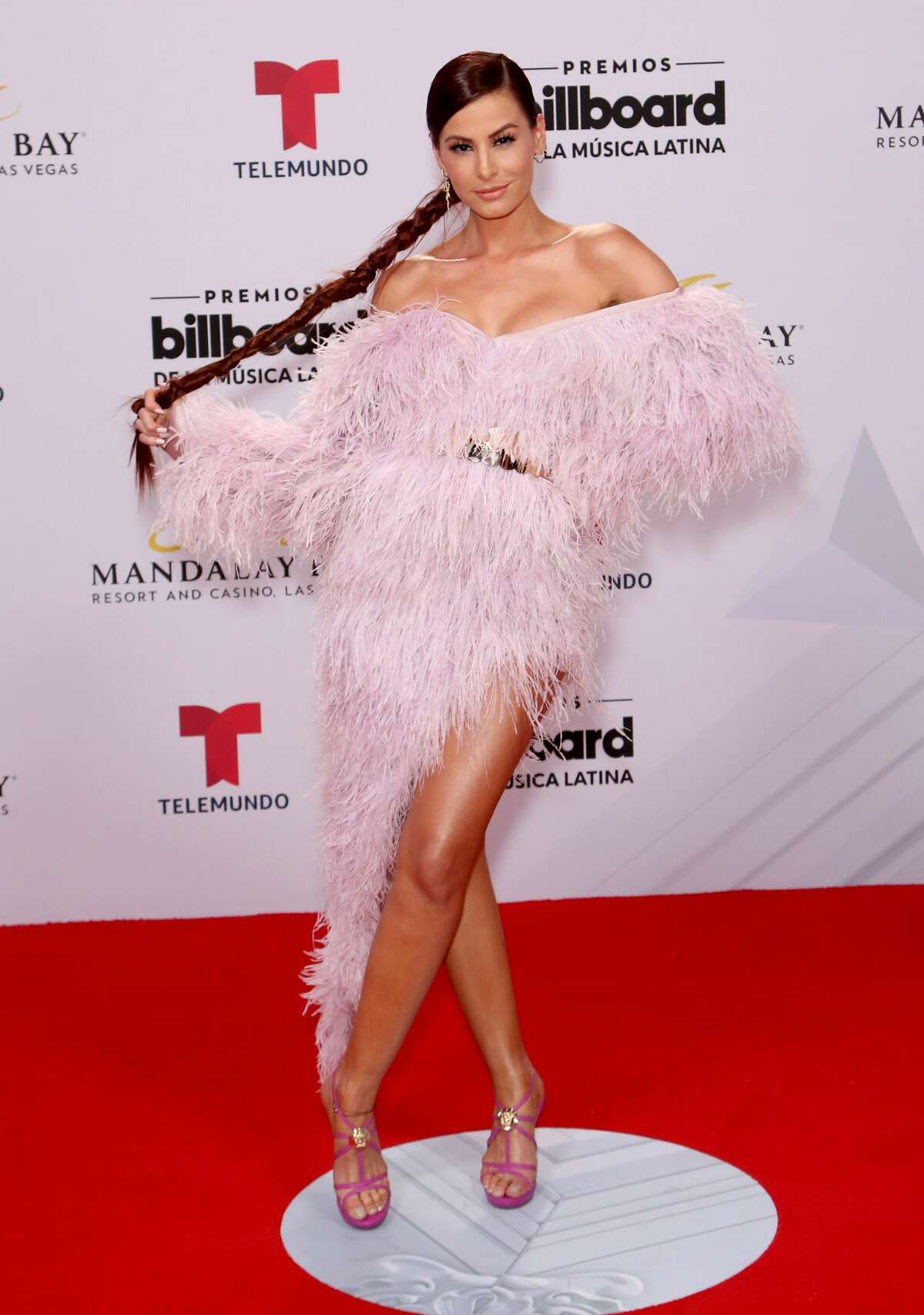 Actress Nastassja Bolivar attends the 2019 Billboard Latin Music Awards at the Mandalay Bay Events Center on April 25, 2019 in Las Vegas, Nevada. (Photo by Gabe Ginsberg/WireImage)