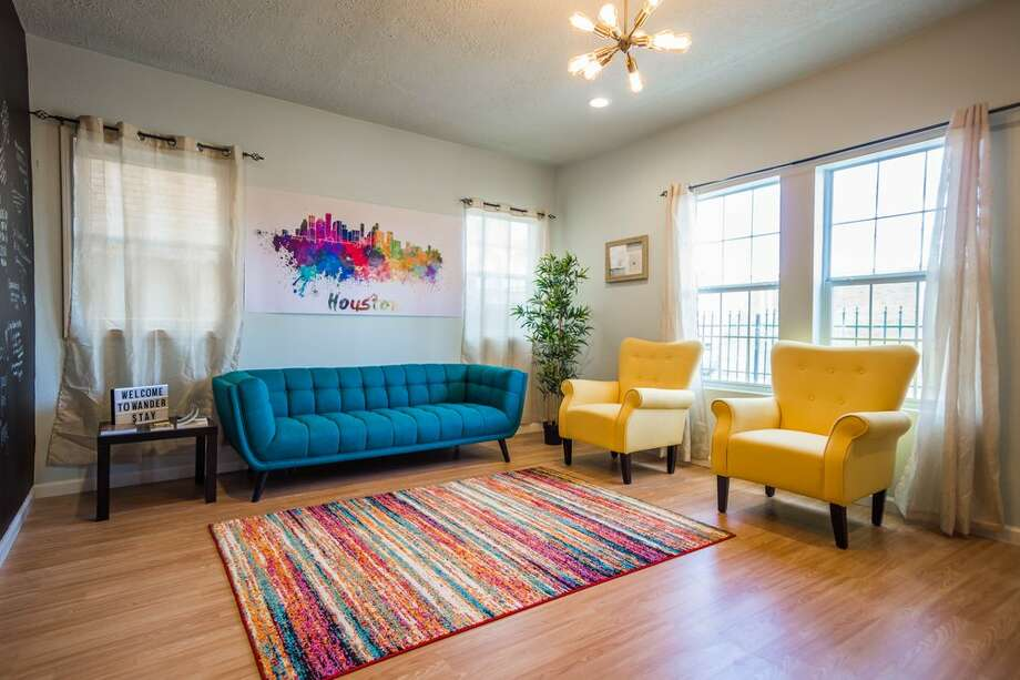 The Wanderstay Houston is a recently opened hostel featuring rooms at $60 or beds for $33 per night. Photo: Yelp/Courtesy Of Business Owner