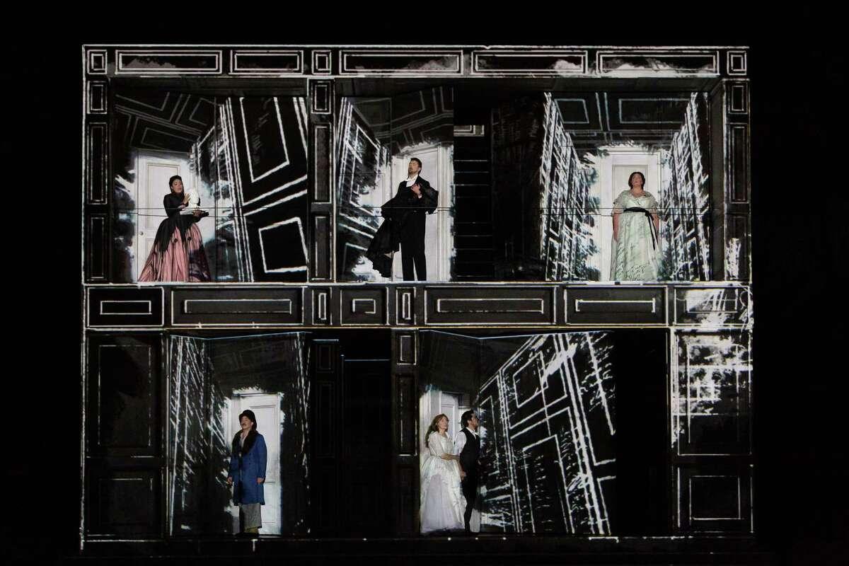 The cast of Houston Grand Opera's 'Don Giovanni'