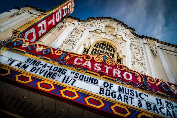 San Francisco, USA - October, 30th 2013: The Castro Theatre is a San Francisco Historic Landmark, built in 1922. It is designed by Timothy L. Pflueger as a movie theatre and frequently shows classic movies.