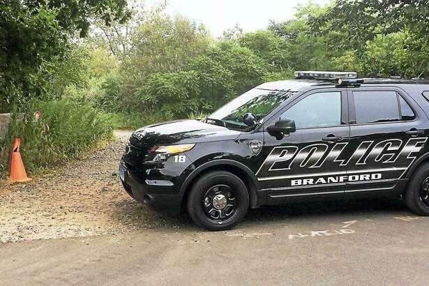 Branford Police Department SUV