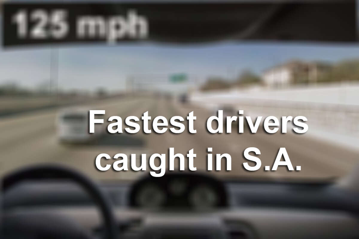 Keep clicking to see some of the fastest drivers caught in San Antonio.