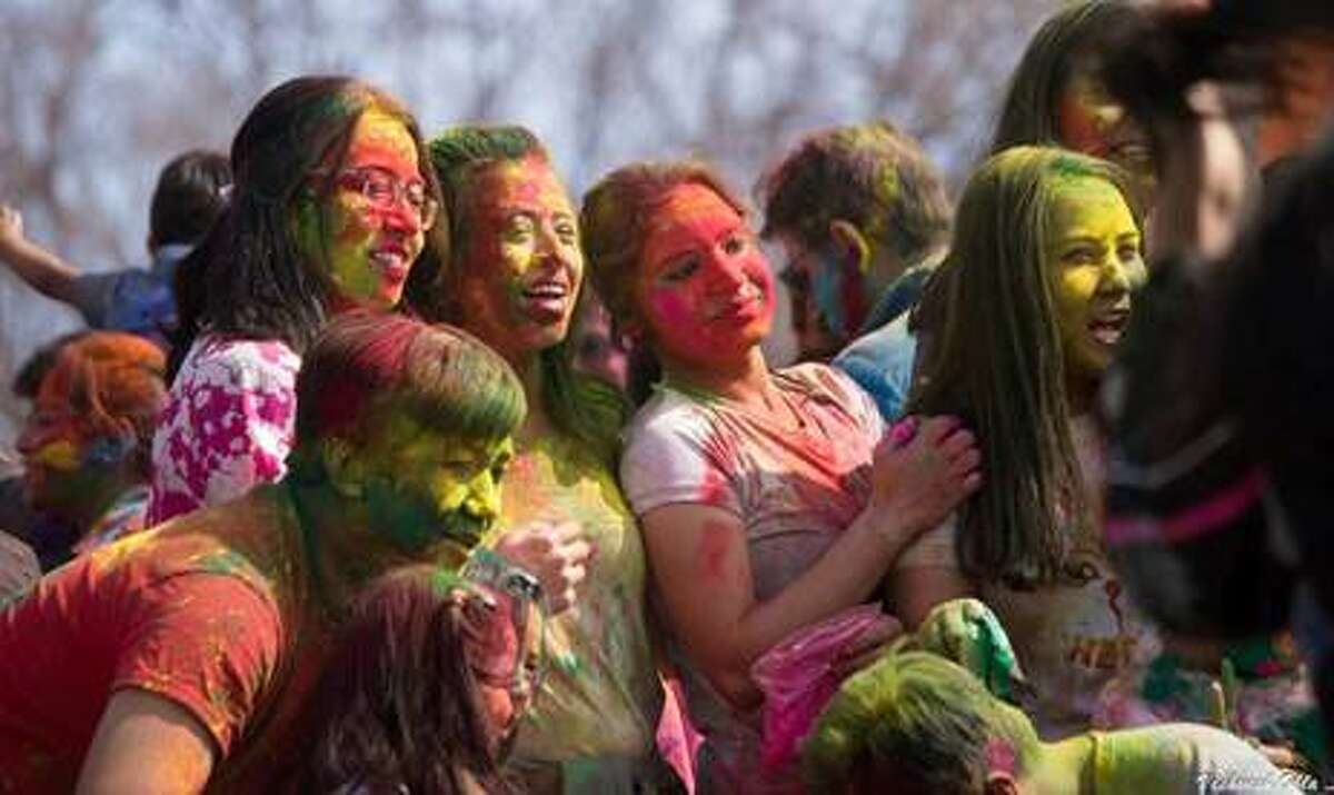 Courtesy of Ashok Adikoppula The Hindu Center's Holi or Color Day festival. State Sen. Kevin Thomas offered a resolution celebrating Holi and proposed a bill that would compel public schools and colleges to excuse students on Hindu holidays.