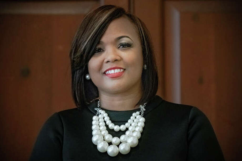 Alton YWCA Women of Distinction 2019 honoree Candice Wallace. Photo: Nathan Woodside | The Telegraph