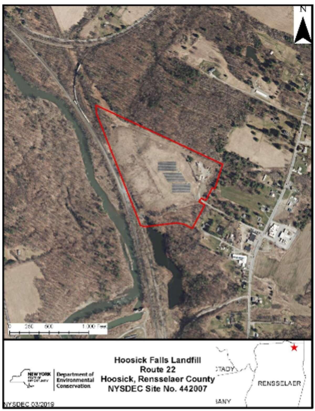 Site of Hoosick Falls Landfill