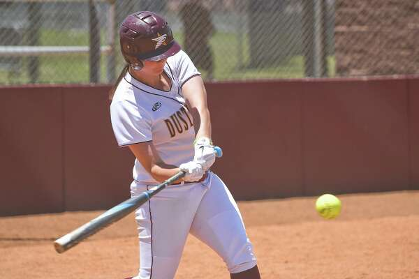 Finishing up their regular seasons this weekend, outfielder Maddison Schofield and the Dustdevils split a doubleheader Friday against Lubbock Christian in a preview of next week's postseason opener.