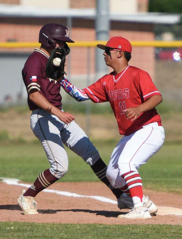 Isaac Ornelas pitched a no-hitter Thursday with 11 strikeouts in five innings in Martin's 12-0 victory at the Brownsville tournament. Photo: Danny Zaragoza /Laredo Morning Times File