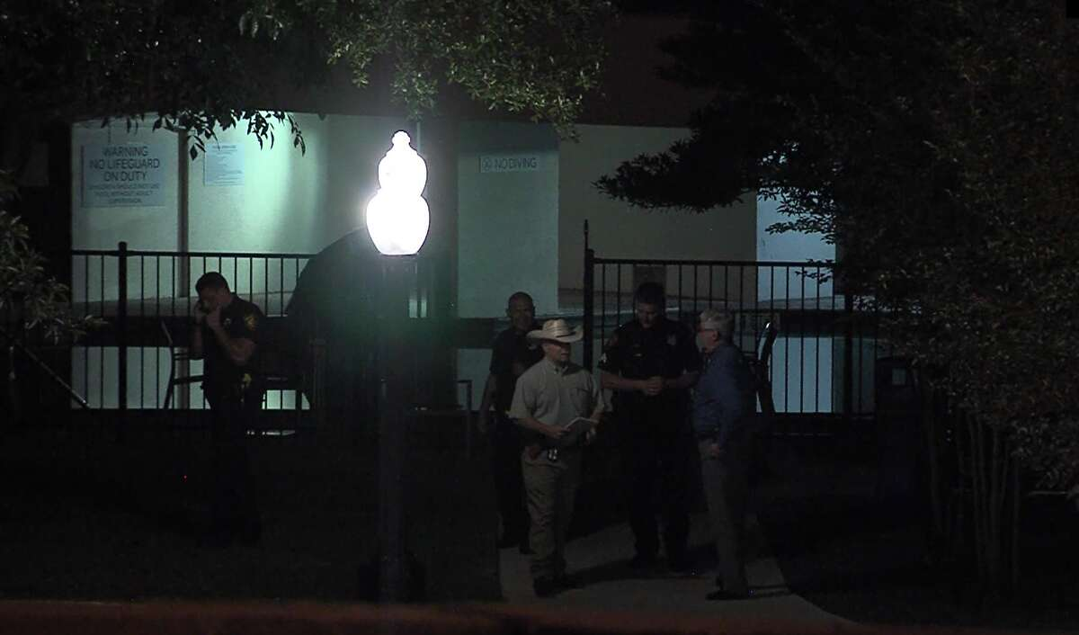 San Antonio police say they responded to a near drowning at a North Side hotel Friday, April 27, 2019, that sent a 12-year-old boy to the hospital in critical condition.