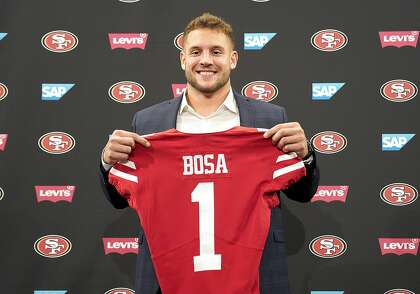 President Trump to 49ers' Nick Bosa: 'Stay true to yourself'