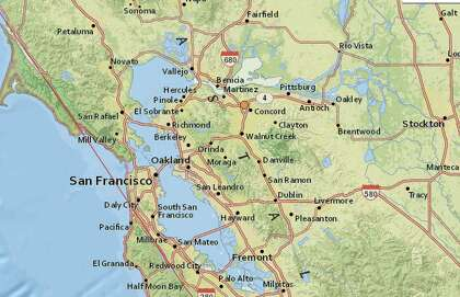 3 4 Magnitude Earthquake Rattles East Bay Sfchronicle Com
