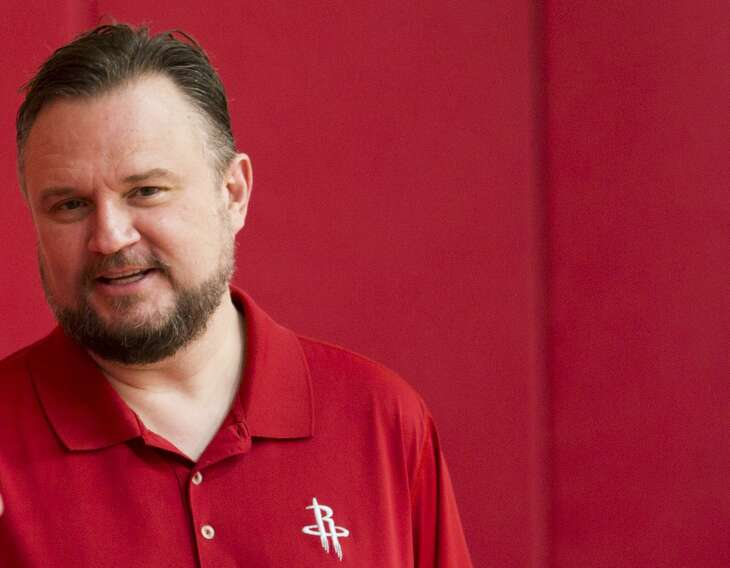 General manager Daryl Morey has seen his Rockets eliminated by the Warriors in four of the last five postseasons.