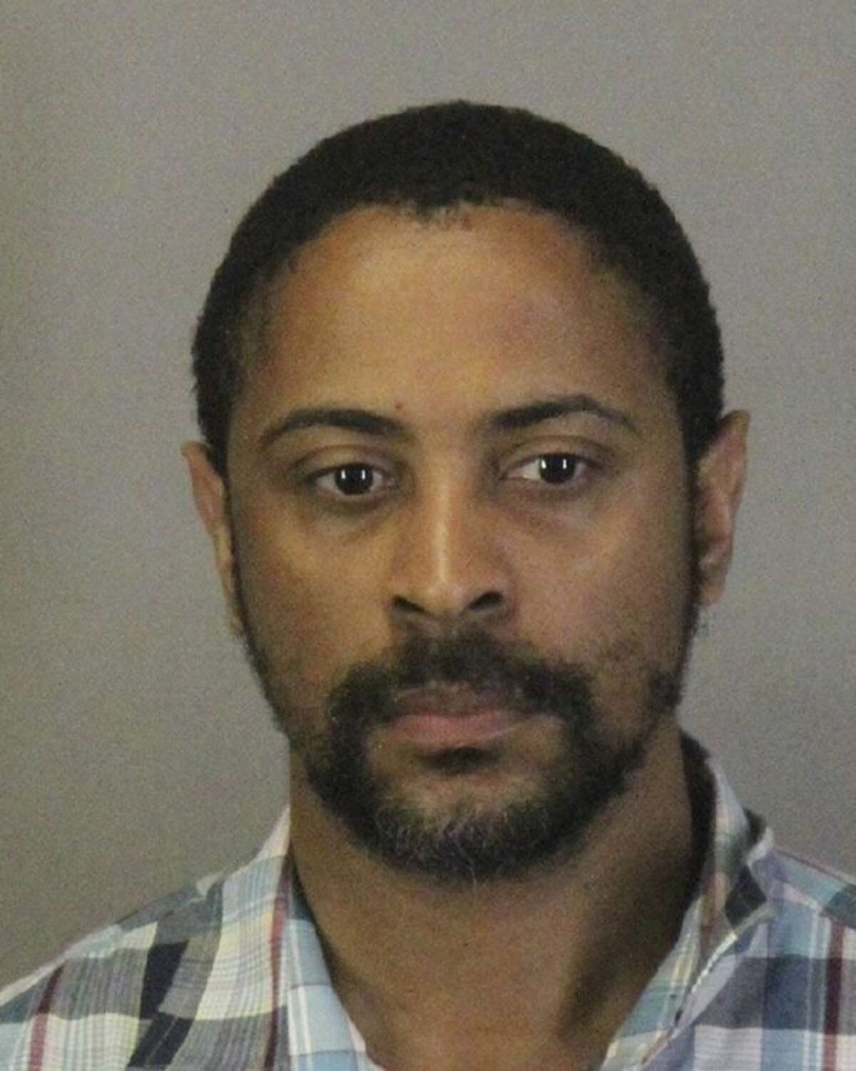 FILE - This file photo released Wednesday, April 24, 2019, by the Sunnyvale Department of Public Safety shows Isaiah Joel Peoples. The former Army sharpshooter with a history of post-traumatic stress disorder plowed his car at high speed into a group of pedestrians in a Silicon Valley suburb, injuring eight people, then told authorities that he intentionally hit them, police said. He was charged Thursday, April 25, 2019, with eight counts of attempted murder. (Sunnyvale Department of Public Safety via AP, File)