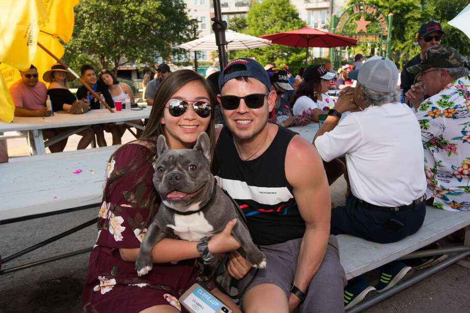 San Antonio had some family fun at Fiesta's 10th Street River Festival 2019 on Friday, April 26, at the VFW Post 76 on the Riverwalk. Photo: Aiessa Ammeter For MySA.com