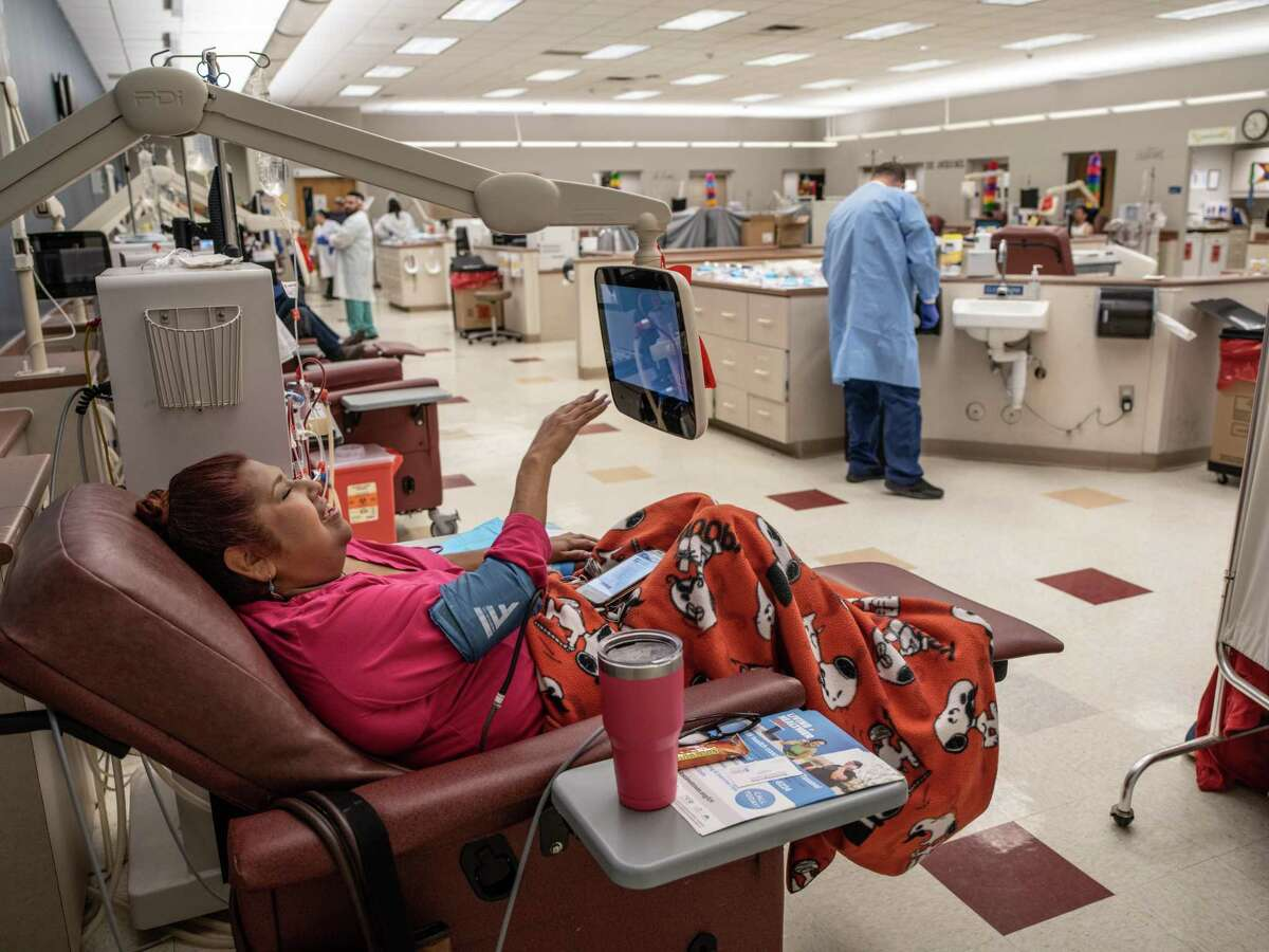 Bexar County and Texas overall have high rates of health problems that affect the kidneys, including diabetes and uncontrolled high blood pressure. Pat Hernandez visits a dialysis clinic in San Antonio three times a week.