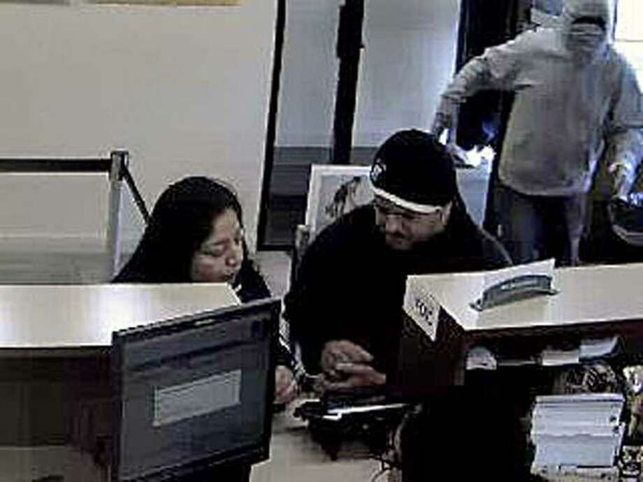 Around 9:45 a.m. on Saturday, April 27, 2019, police responded to a report of a bank robbery at 391 Foxon Blvd. (Route 80) in New Haven, Conn. Photo: Contributed Photo / New Haven Police Department / Contributed Photo / Connecticut Post Contributed