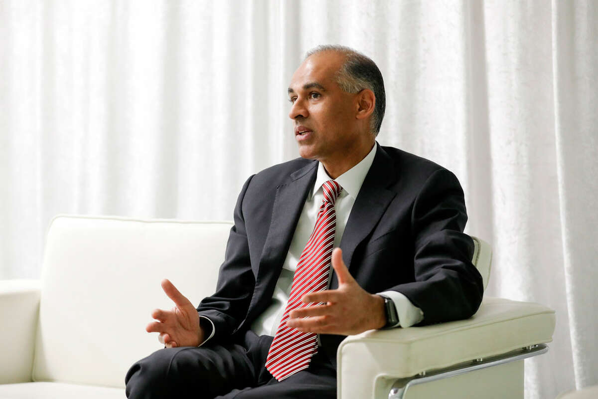 LyondellBasell CEO Bob Patel in an April 16, 2019 interview. The company said it has ended discussions to buy the Brazilian petrochemical company Braskem.
