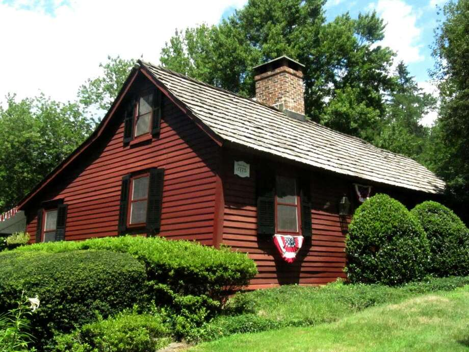 """Last Tuesday, the Westport Representative Town Meeting (RTM) designated the John Osborn House, located at 187 Long Lots Road, as a """"historic property."""" The Historic District Commission, which previously estimated the small colonial dwelling to have been built in 1775, recently discovered that the house was actually built between 1683 and 1687. The John Osborn House is the oldest known home in Westport and the only home still standing from the 1600s. Photo: Kirk Lang / Westport News"""